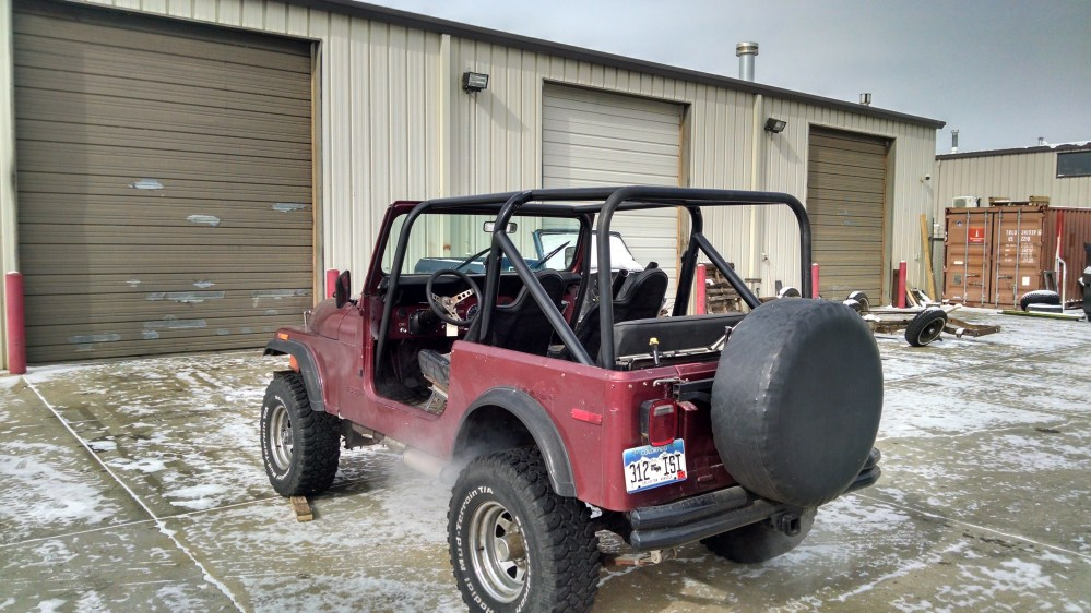 medium resolution of rear cage kit shown with our front cage kit
