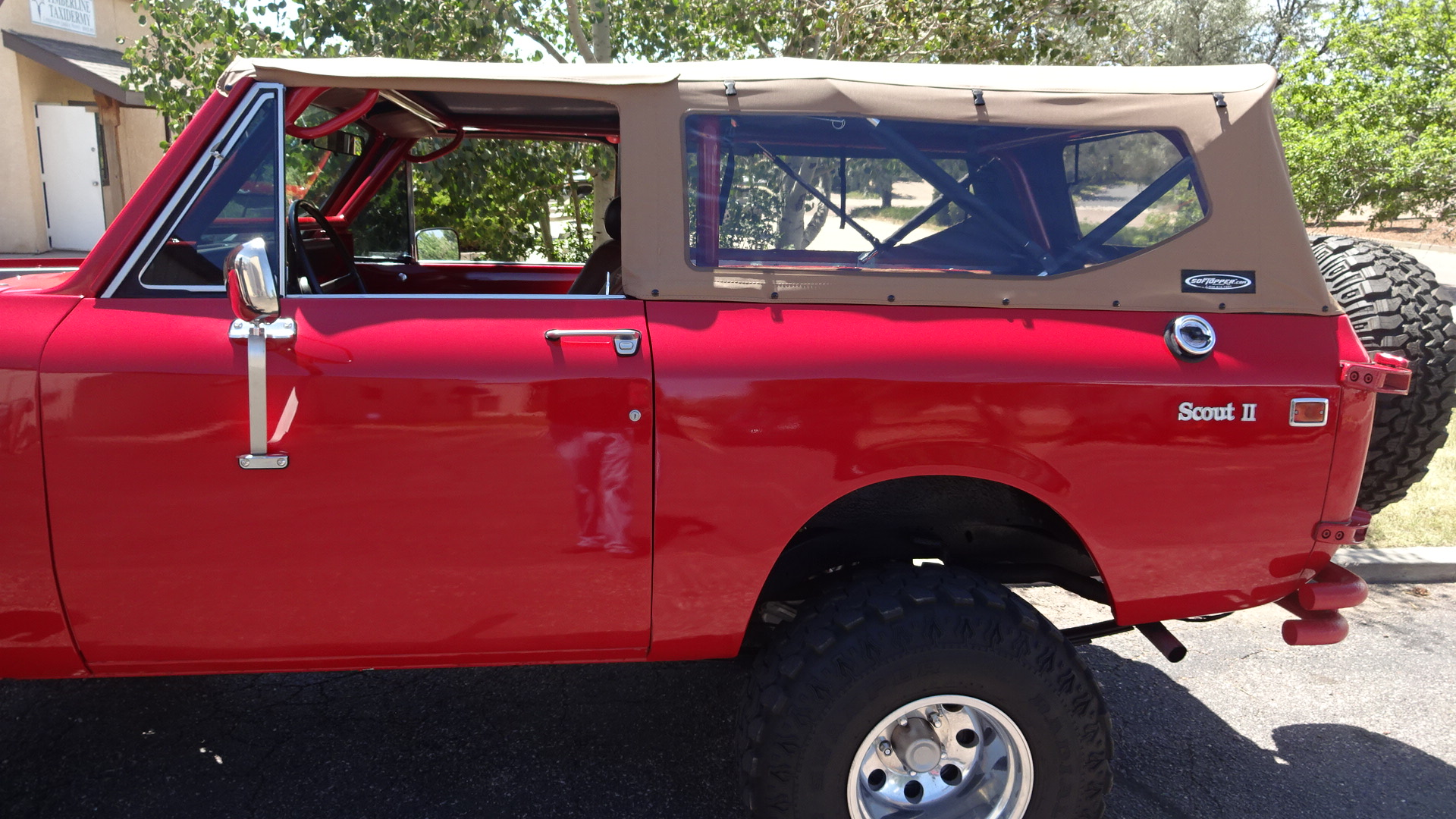 Softopper International Scout Ii Soft Top D And C Extreme