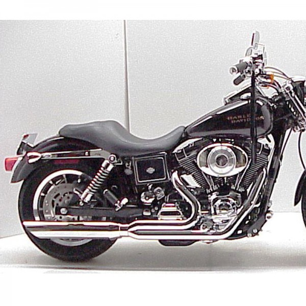 1995 2005 harley dyna fat cat 2 1 full exhaust system
