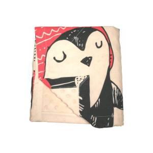 SLEEP WELL Paturica bebe Panel Pinguinii