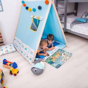 DREAM BIG Cort Pe mare - cort de joaca bleu