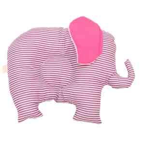Pui de perna BABY Elefantul cu dungi mov - perna bebelus