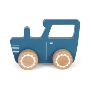 Tractor albastru Little Dutch