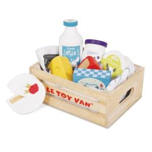 Ladita din lemn cu produse lactate – Le Toy Van