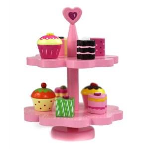 Platou cu prajituri cupcakes pentru copii