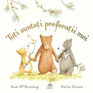 Carte de povesti cu ursi pentru copii