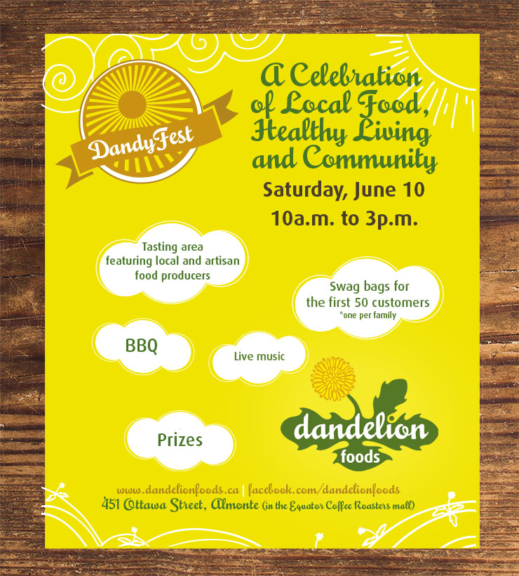 DandyFest - A Celebration of Local Food, Healthy Living and Community