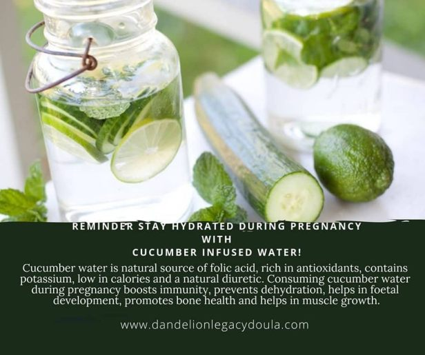 cucumber infused water 4