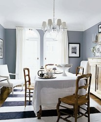 Design Fantasy: Living/ Dining Room dandelion paperweight