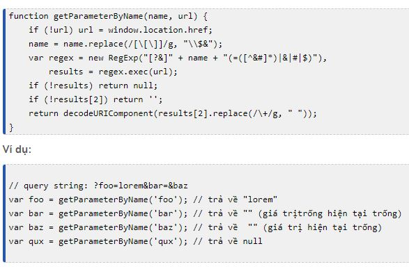 You also can't use the = character in the name/value in the query string of a url. Get parameter from url with jquery - Lấy tham số trong url ...