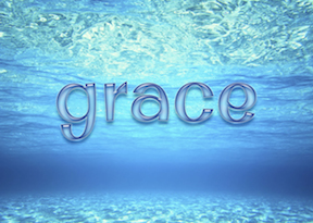 swimming in grace