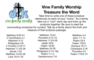 treasure scripture