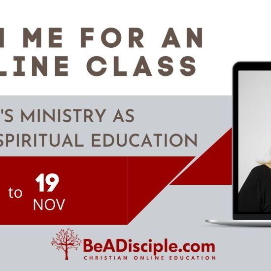 Online Kidmin Class