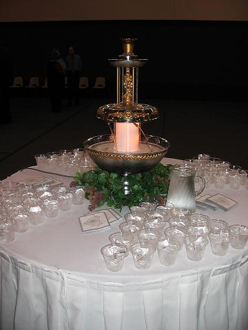D  J Catering  Fountains