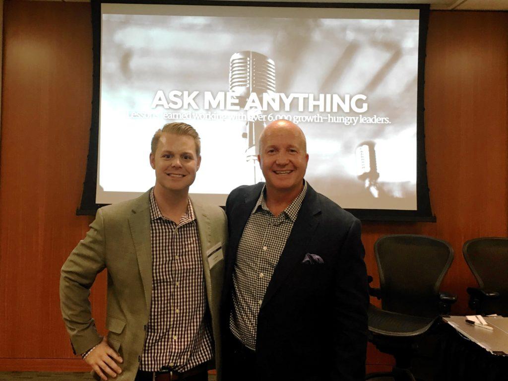 Kirk and I at a talk in San Francisco.