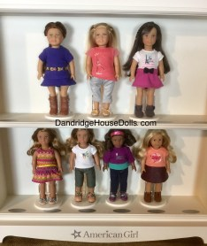 Girl of the Year Mini Dolls and Tenney