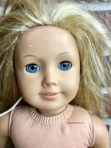 Abused American Girl Doll