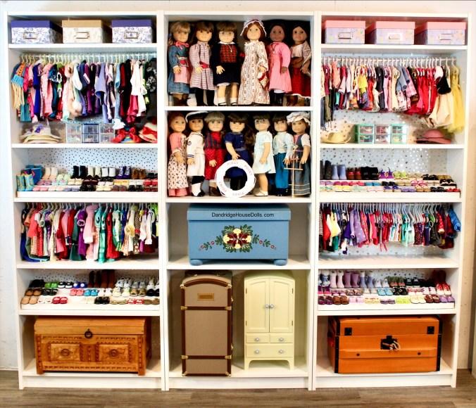 Dandridge House Dolls closet