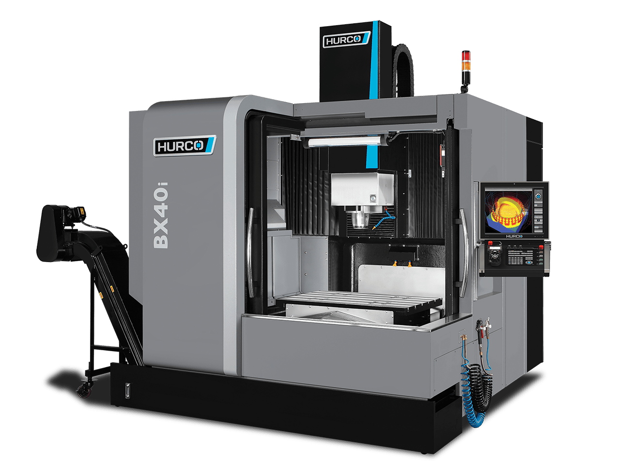 hight resolution of double column machining center bx series the hurco bx series cnc