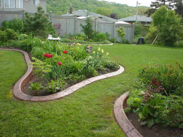 concrete curbs lawn edging garden