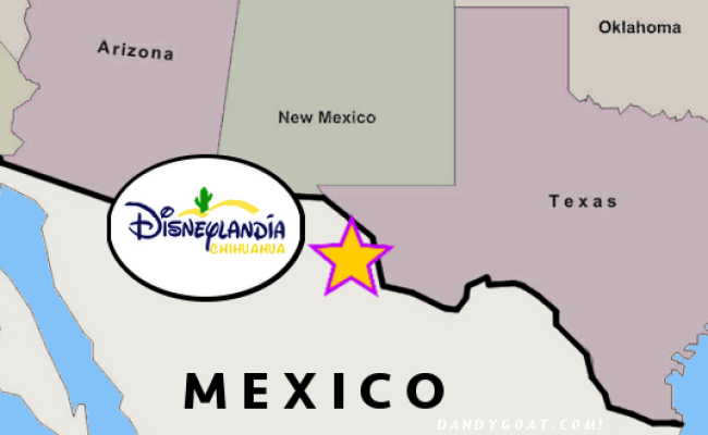 U S Opens Disneyland In Mexico To Stop Illegal