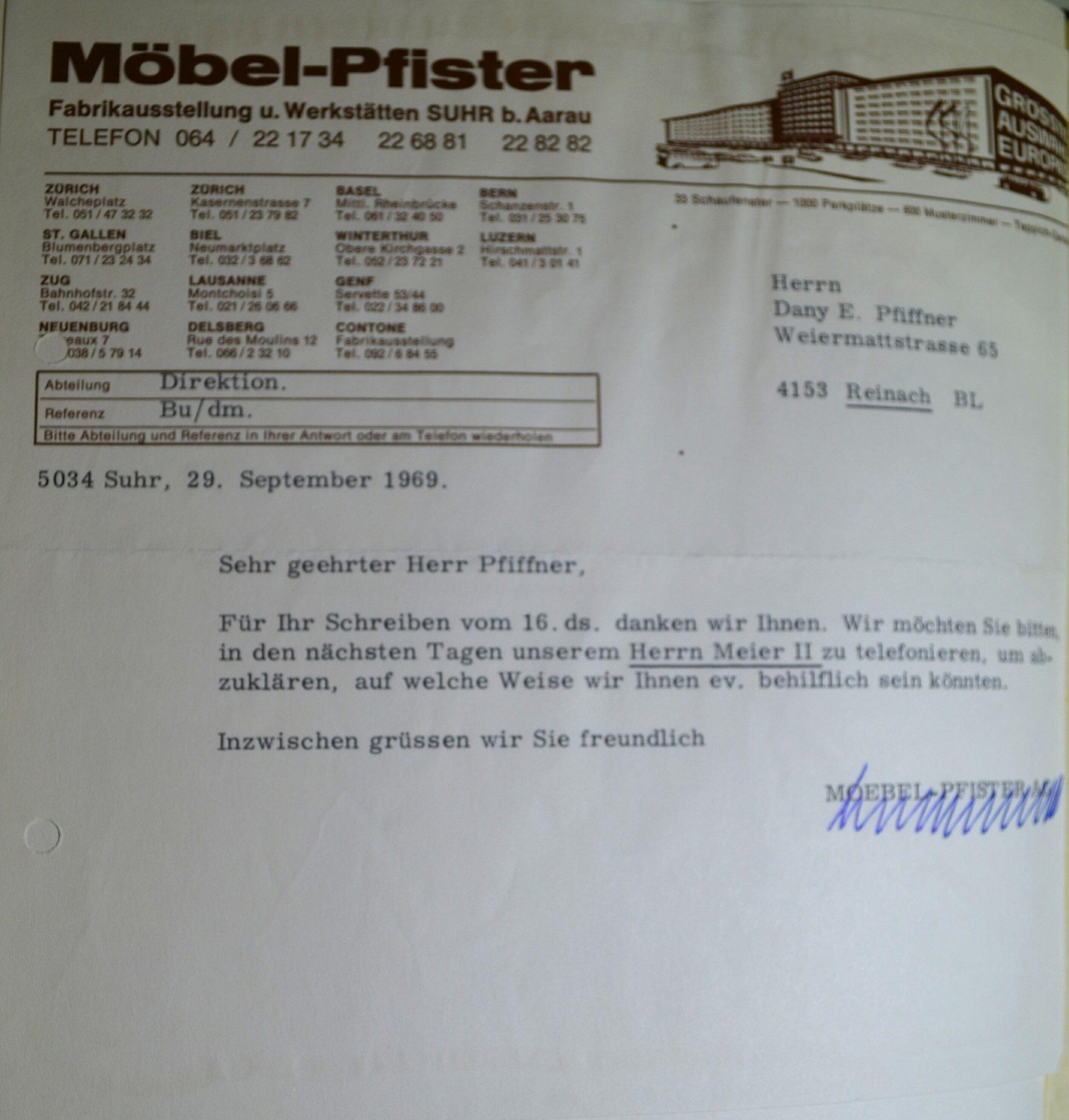 Möbel Pfister Suhr Station Online Einkauf Bei Pfister Wird