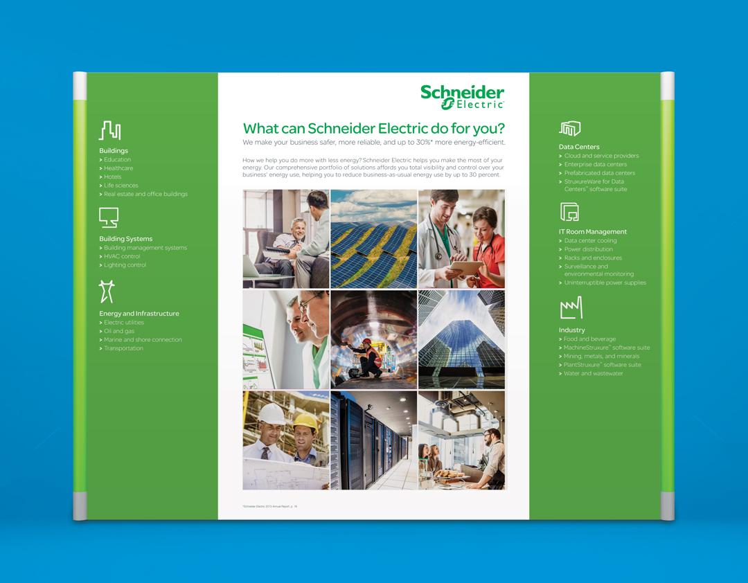 Schneider Electric Trade Show Design Dane Bliss