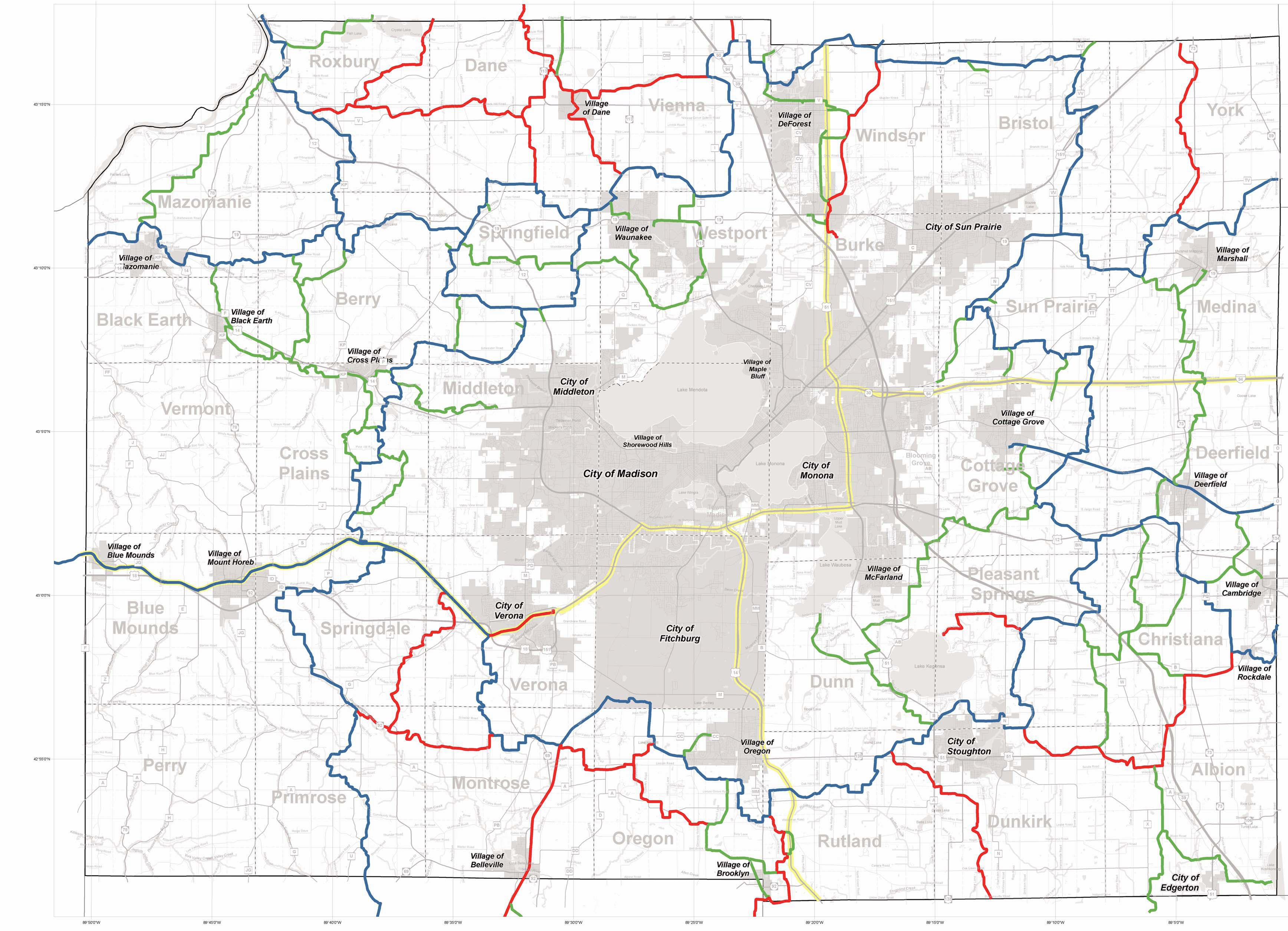 Crawford County Wi Snowmobile Map