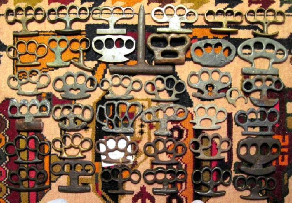 Short History of Brass Knuckles in America (1/2)