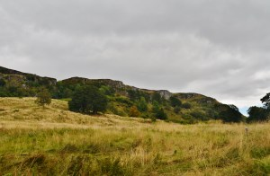 The local crags.