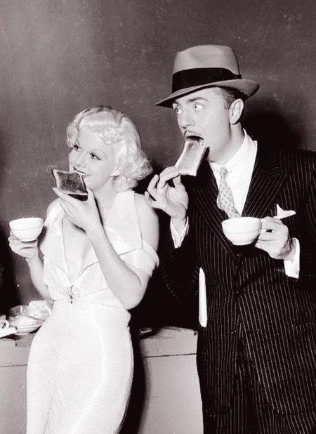 Jean Harlow and William Powell.