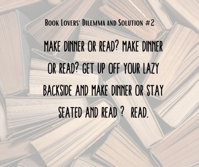 Book Lovers' Dilemma #2