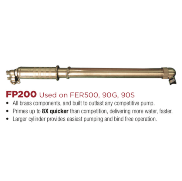 INDIAN™ 90G 5-GALLON GALVANIZED TANK WITH FP200 FIRE PUMP