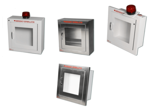 180SMSS-14R / 180 STAINLESS STEEL AED CABINET WITH ALRAM &STROBE