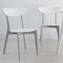 Grey Kitchen Chairs Desk Chair Knees And White Dining Danetti Uk