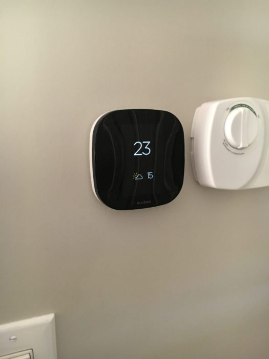 Ecobee3 installed