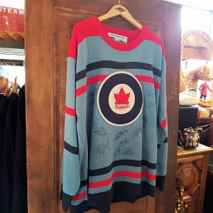 1948 commemorative Canadian Olympic hockey sweater