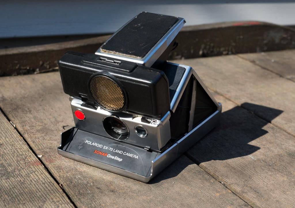 SX-70 Land Camera Sonar
