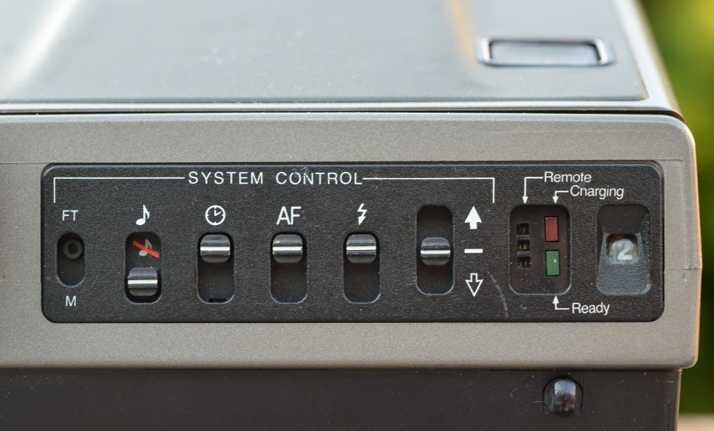 Polaroid Spectra System controls