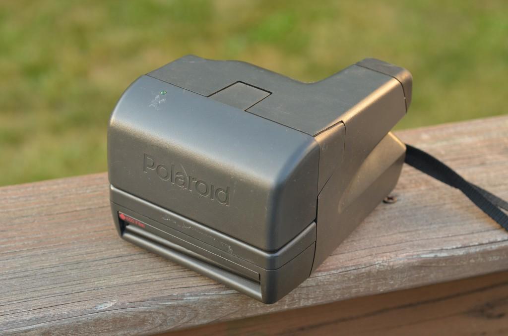 Polaroid OneStep Closeup folded