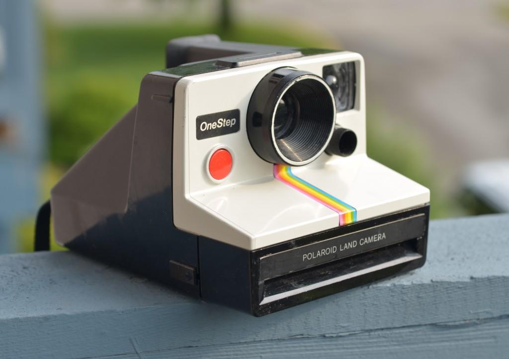 Polaroid OneStep Rainbow Camera