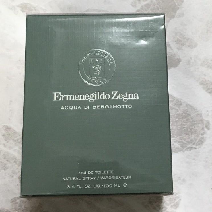2019年元旦 Tギャラリア 抽選会でもらったZegnaの香水