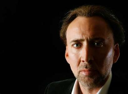 """Nic Cage in """"Thinking about my mane"""""""