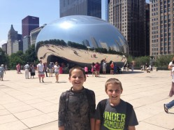 The Bean in Chicago.