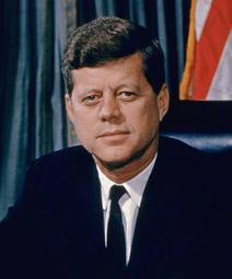 President John F. Kennedy. Image via Wikipedia