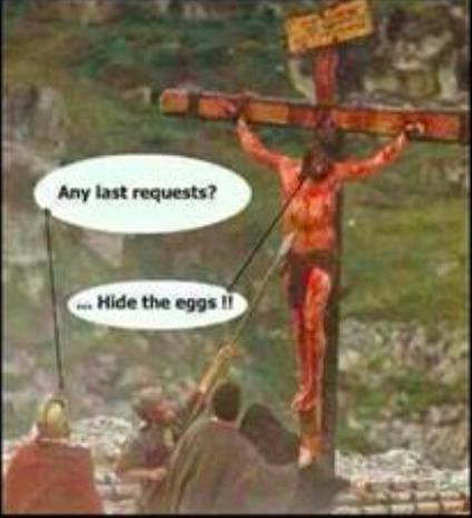 Jesus on Cross - last request