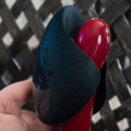Showing the Pulse on a Sportsheets Flare dildo for size reference