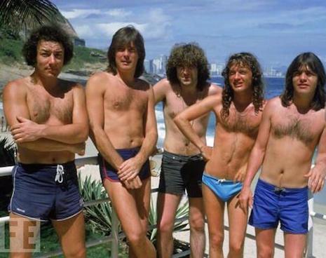 AC/DC in Rio de Janeiro, Brazil, 1985