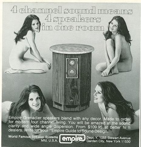 Empire Grenadier speaker ad, 1970s