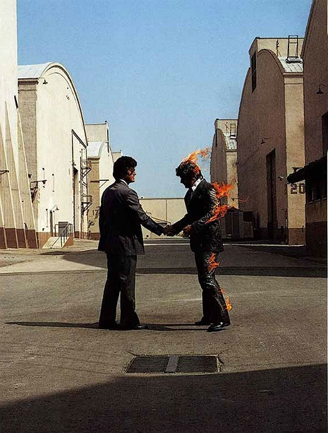 Pink Floyd Wish You Were Here : floyd, Forty, Years, Floyd, Released, 'Wish, Here', Dangerous, Minds